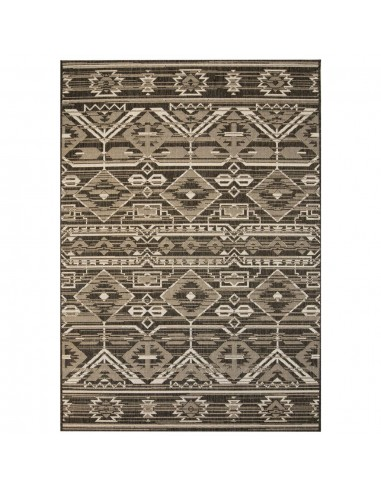Sizalio išvaizdos vidaus/lauko kilimas, 140x200cm, geometr.    Kilimėliai   duodu.lt