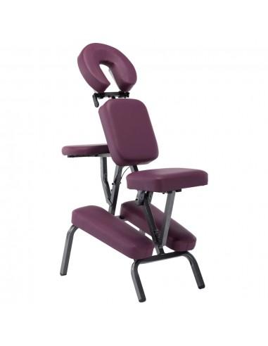 Masažinis krėslas, dirbtinė oda, 122x81x48, bordo sp.   Masažinės Kėdės   duodu.lt