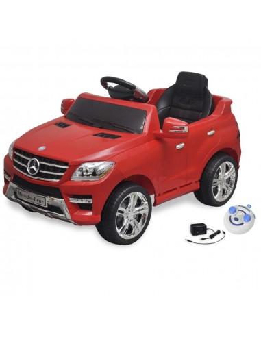 El. automobilis MERCEDES BENZ ML350, raudonas, 6 V, su nuot. pultu | Elektrinės Transporto Priemonės | duodu.lt