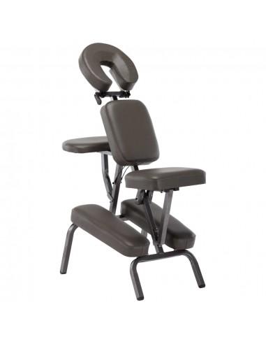 Masažinis krėslas, antracito sp., dirbt. oda, 122x81x48cm | Masažinės Kėdės | duodu.lt