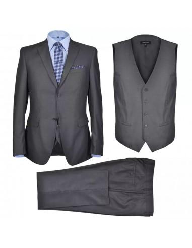 Vyriškas verslo kostiumas, 3d., antracito pilka sp., 56 dydis    Kostiumai   duodu.lt