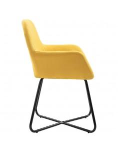 5 dalių valgomojo stalo ir kėdžių komplektas, juoda | Virtuvės ir Valgomojo Baldų Komplektai | duodu.lt