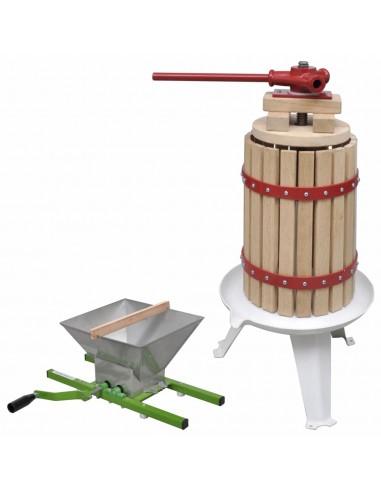 Vaisių ir vyno preso ir smulkintuvo rinkinys, 2d.   Vyno gamyba   duodu.lt