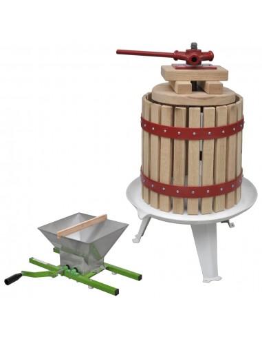 Vaisių ir vyno preso ir smulkintuvo rinkinys, 2d. | Vyno gamyba | duodu.lt