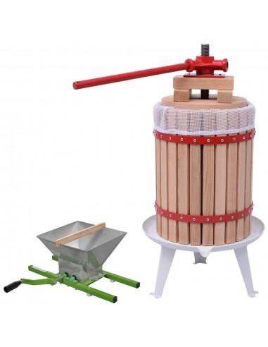 Vaisių ir vyno preso bei smulkintuvo rinkinys, 2d.   Vyno gamyba   duodu.lt