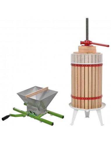 Vaisių ir vyno preso bei smulkintuvo rinkinys, 2d. | Vyno gamyba | duodu.lt