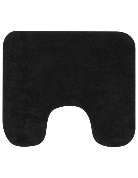 Paklodės, 2 vnt., 140x200 cm, medvilnė, juodos spalvos | Patalynė | duodu.lt