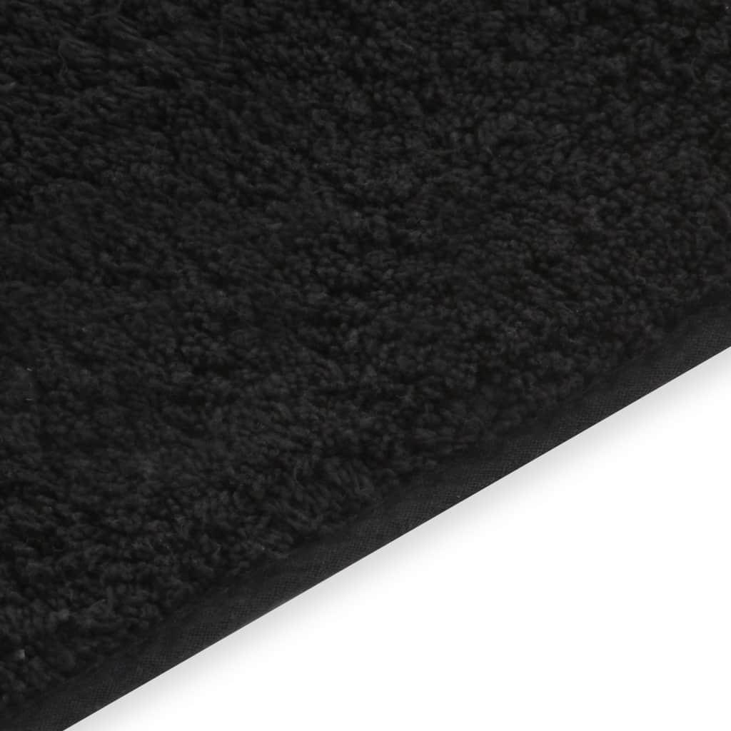 Paklodės, 2 vnt., 160x200 cm, medvilnė, juodos spalvos | Patalynė | duodu.lt