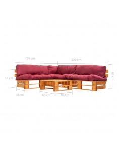Konsolinis staliukas, pabėgių med. ir plienas, 120x35x76cm | Žurnaliniai Staliukai | duodu.lt