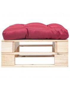 Poilsio kėdė, tikra oda, 69x69x69cm, ruda | Foteliai, reglaineriai ir išlankstomi krėslai | duodu.lt