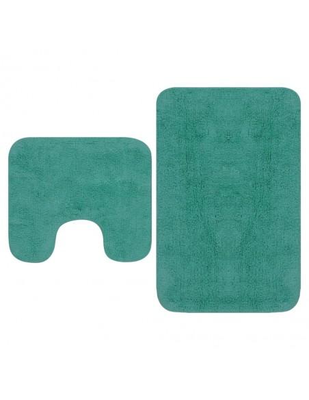 Paklodės, 2 vnt., 180x200 cm, medvilnė, pilkos spalvos | Patalynė | duodu.lt