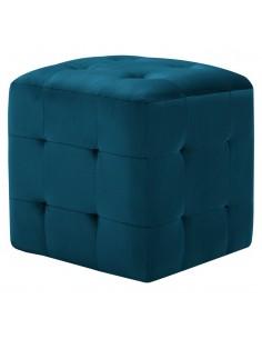 Valgomojo kėdės, 4vnt., aud. apmuš., 56x54x80cm, žalios | Virtuvės ir Valgomojo Kėdės | duodu.lt