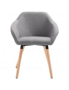 Valgomojo kėdės, 6 vnt., tamsiai pilkos (3x246856) | Virtuvės ir Valgomojo Kėdės | duodu.lt