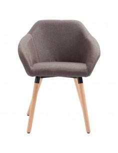 Besisuk. valg. kėdės, 2vnt., dirbt. oda, 74x63,5x89cm, raud.  | Virtuvės ir Valgomojo Kėdės | duodu.lt