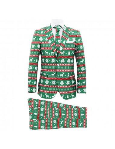 Vyriškas kalėdinis kostiumas su kakl., 2d., žalios sp., 46 dyd. | Kostiumai | duodu.lt