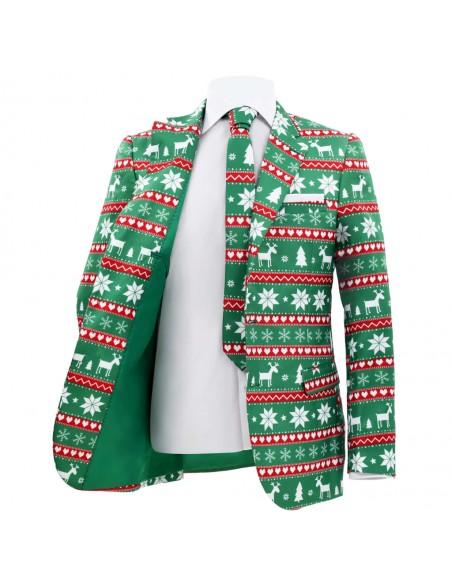 Vyriškas kostiumas/smokingas, 2 dalys, 52 dydis, baltas | Kostiumai | duodu.lt
