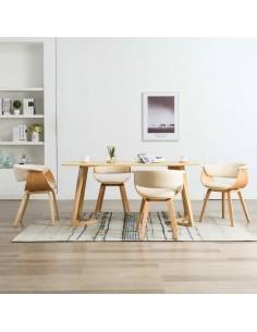Lauko valgomojo baldų kompl. su pagalv., 17d., akacijos mediena | Lauko Baldų Komplektai | duodu.lt