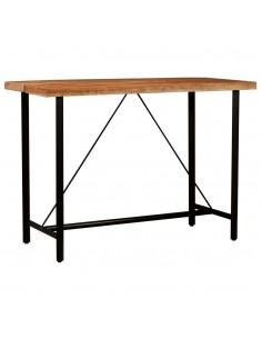 Lauko valgomojo stalas, polir. ir akac. med. mas., 150x74cm | Lauko Staliukai | duodu.lt
