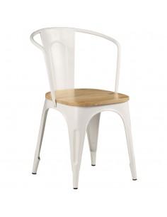 Baro kėdės, 2vnt., akacijos medienos masyvas, 30,5x30,5x74cm | Lauko Kėdės | duodu.lt