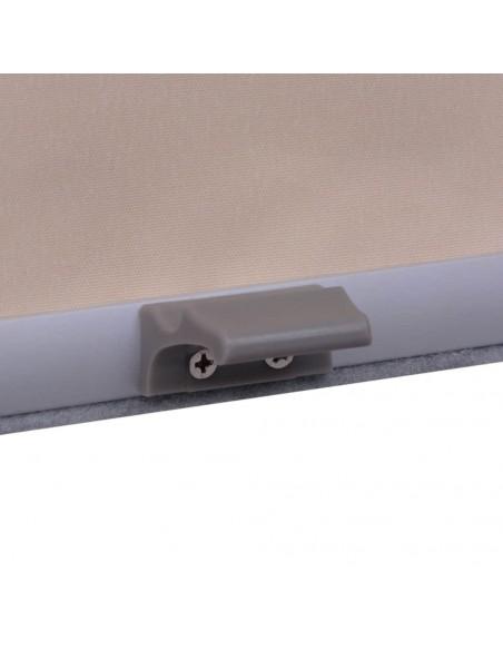 Mikro satino užuolaidos su kilpomis, 2vnt. 140x245cm turkio sp. | Dieninės ir Naktinės Užuolaidos | duodu.lt