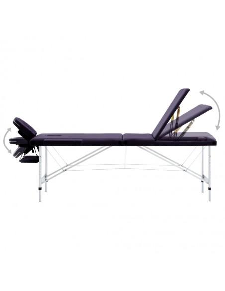 Sulanks. masaž. stalo ir kėdės komp., 2 zonų, 10cm stor., balt. | Masažiniai Stalai | duodu.lt