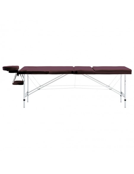 2 zonų sulankst. masaž. stalo ir kėdės komp., 10cm stor., juod. | Masažiniai Stalai | duodu.lt