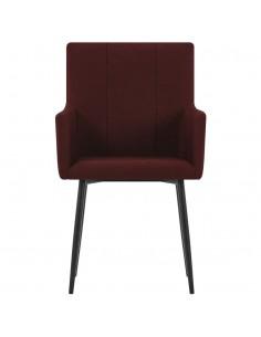 Lauko valgomojo kėdės, 4vnt., natūr. rat., 48x64x85cm, juodos  | Lauko Kėdės | duodu.lt