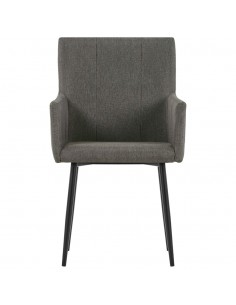 Lauko valgomojo kėdės, 2vnt., natūr. rat., 48x64x85cm, rudos  | Lauko Kėdės | duodu.lt