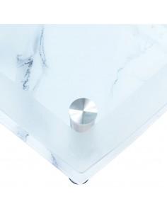 Įtemp. staltiesės su sijonais, 2 vnt., baltos, 120x60,5x74 cm | Baldų Užvalkalai | duodu.lt