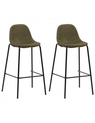 Baro kėdės, 2 vnt., rudos spalvos, audinys    Stalai ir Baro Kėdės   duodu.lt